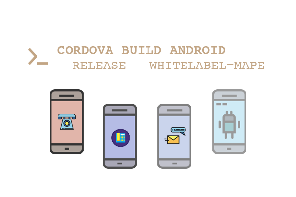 White label Cordova Application